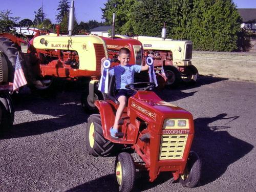 Garden Tractor Pulling Sticker : Cockshutt decals big prairie ohio garden